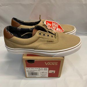 Vans Mens ERA 59 (C&L) Khaki/Material Mix